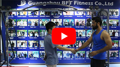 Pakistani customers come to bft fitness manufacturers to purchase gym equipment