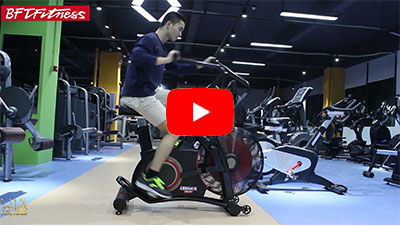 How to use Magnetic resistance exercise Fan Bike?