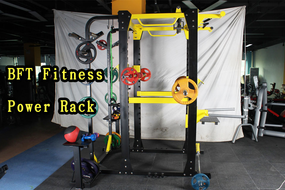 bft fitness power rack